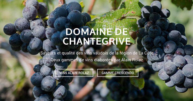 Vins Alain Rolaz Domaine de Chantegrive