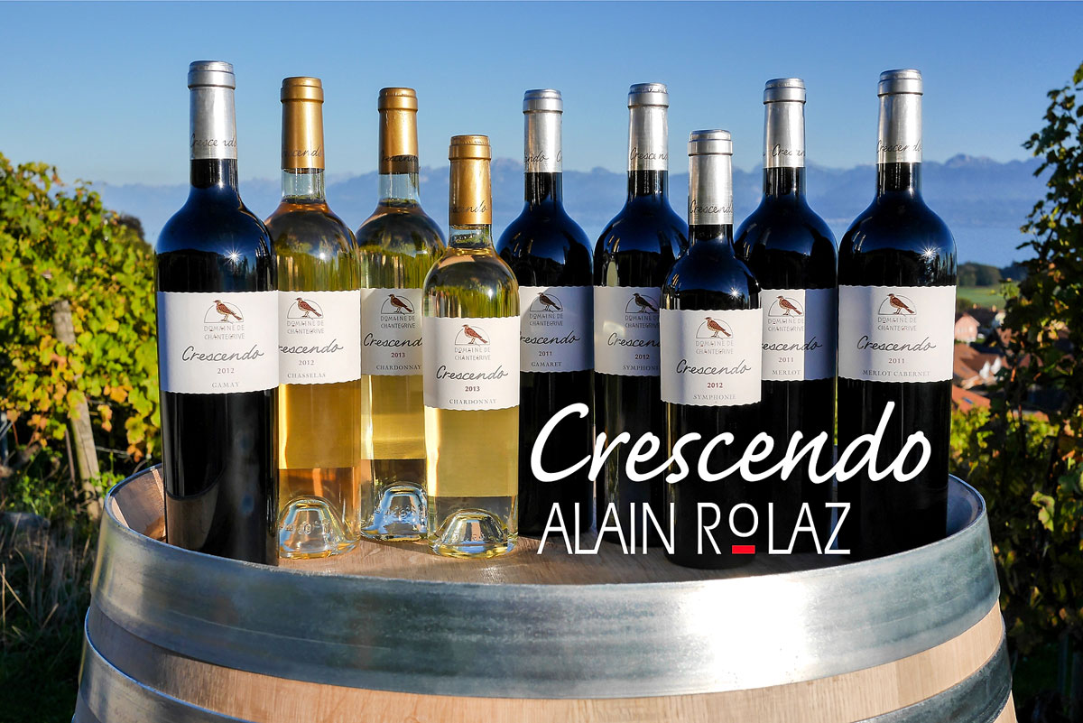 Crescendo Alain Rolaz Domaine de Chantegrive