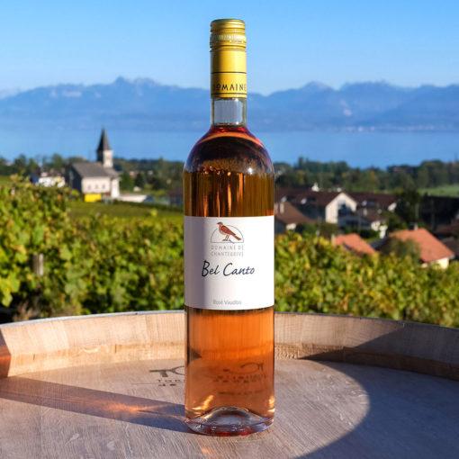 Le Rosé vaudois Domaine de Chantegrive
