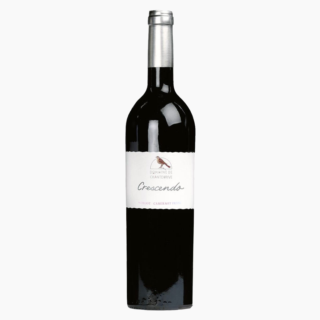 Vin Merlot Cabernet Franc 75cl Gamme Crescendo Domaine de Chantegrive