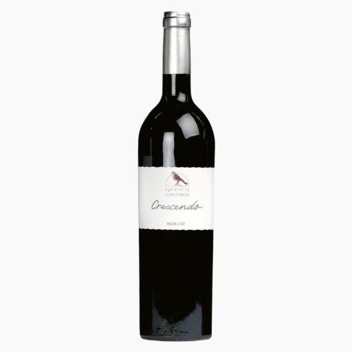 Vin Merlot 75cl Gamme Crescendo Domaine de Chantegrive