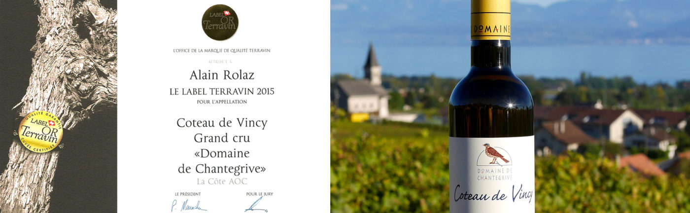 Coteau de Vincy Label Terravin 2015
