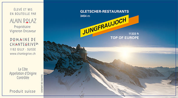 Jungfraujoch Domaine de Chantegrive