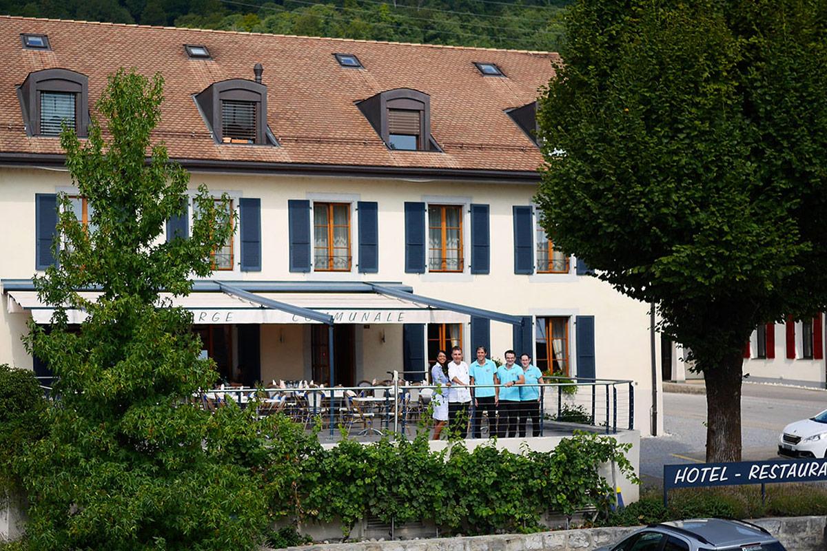 Repas Saveurs Automnales Auberge de Gilly Domaine de Chantegrive