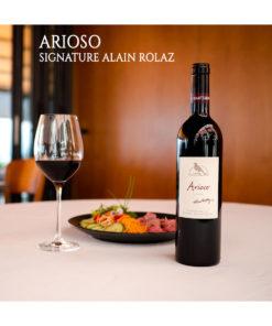 Arioso Signature Alain Rolaz Restaurant Domaine Chantegrive
