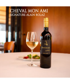 Cheval Mon Ami Signature Alain Rolaz Restaurant Domaine Chantegrive
