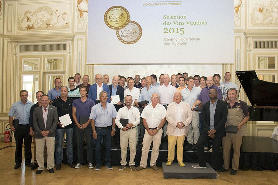 Remise des prix Sélection des vins vaudois 2015