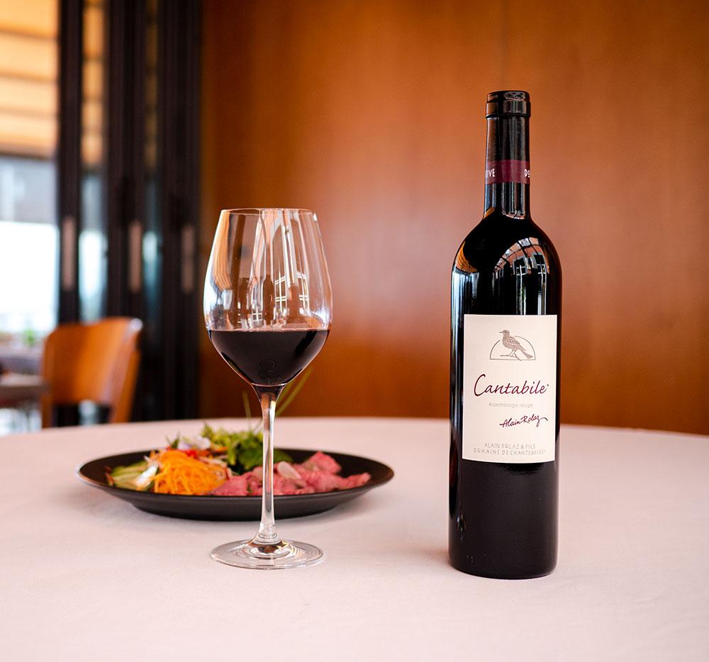 Cantabile Signature Alain Rolaz Restaurant Domaine de Chantegrive