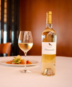 Chardonnay Crescendo Restaurant Domaine de Chantegrive