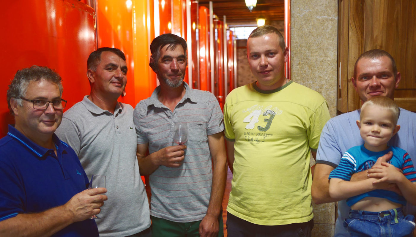 L'équipe du Domaine de Chantegrive