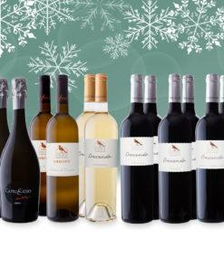 3 Packs de Noël 6 et 12 bouteilles Domaine de Chantegrive